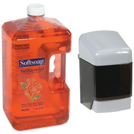 An antibacterial and dermatologist-tested formula to clean off dirt and germs from hands.