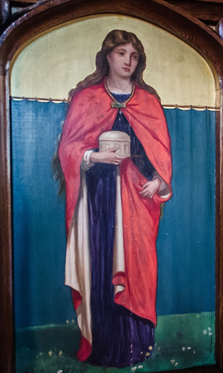 Reredos Painting, St Mary Magdalene church, St Leonards on sea ...