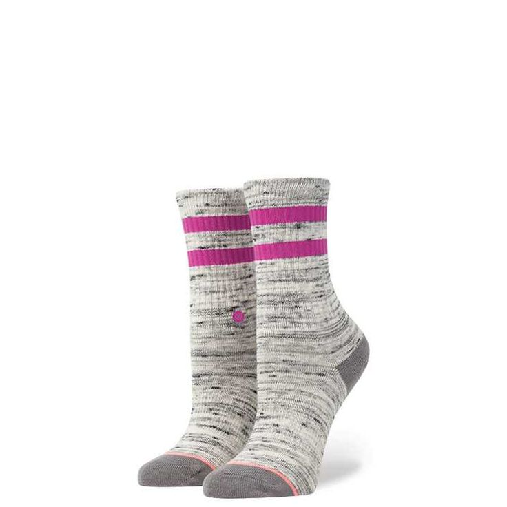 #FashionVault #stance #Girls #Accessories - Check this : Stance Stripe Crew Girls GRY S girls Socks for $ USD