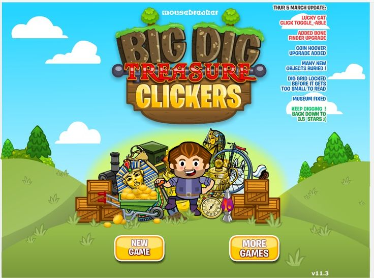 #Cookie_Clicker, #CookieClicker, #Cookie_Clicker_play, #Cookie_Clicker_game, #Cookie_Clicker_online Big Dig Treasure Clickers: http://cookieclickerplay.com/big-dig-treasure-clickers.html
