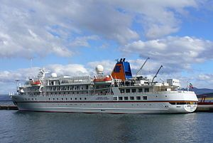 Bremen. Ιδιοκτησία: Hapag-Lloyd AG. Διαχείρηση: Hapag-Lloyd Cruises. Frontier Spirit 1990~1993. 1993 ~ present, today's name. Τελείωσε τον Ιούλιο του 1990. 6.752 GT ~ 111,51 μ.μ. ~ 17 μ.πλάτος ~ 7 κατ/τα ~ 16 knots ~ 155 επ. ~ 100 ατ.πλ.