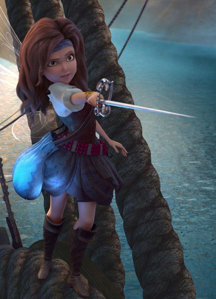 Картинки феи пиратского острова зарина
