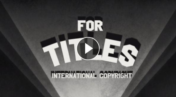 Un vídeo preciso y precioso sobre el viaje de la tipografía del papel a la pantalla. Además, la historia de la tipografía en el cine hecha animación.