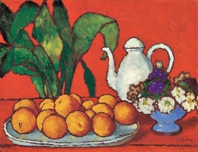 stilllifequickheart:    József Rippl-Rónai  Still Life with Oranges  Early 20th century