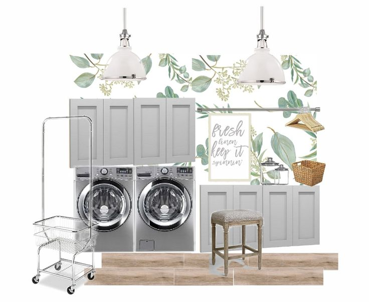 Looking For Ways To Update Your Laundry Room? Just Destiny Explains How She  Will Be