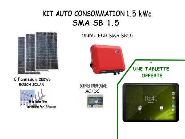 kit solaire auto consommation vente en ligne panneaux solaires vosges kits. Black Bedroom Furniture Sets. Home Design Ideas