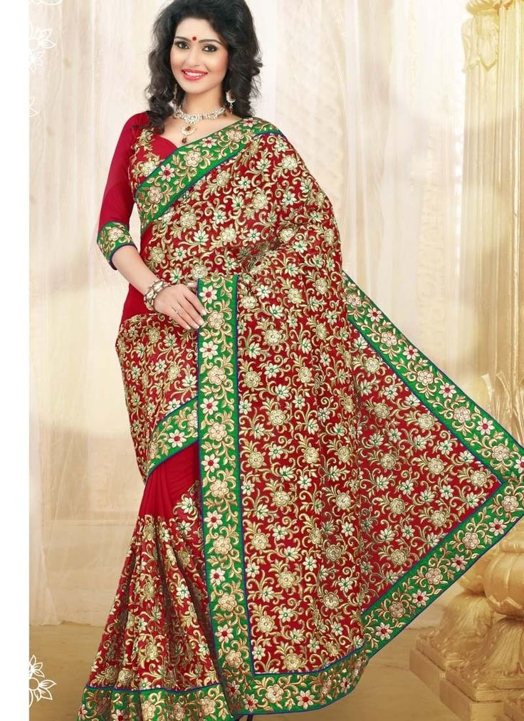 Add charm and grace to your persona draping this abstract and shaded printed saree.This georgette made saree ensuring complete comfort to the wearer is an ideal pick for everyday attire.It is further fascinated with a contrasting patch border.This saree comes with a matching geometrical printed blouse piece.