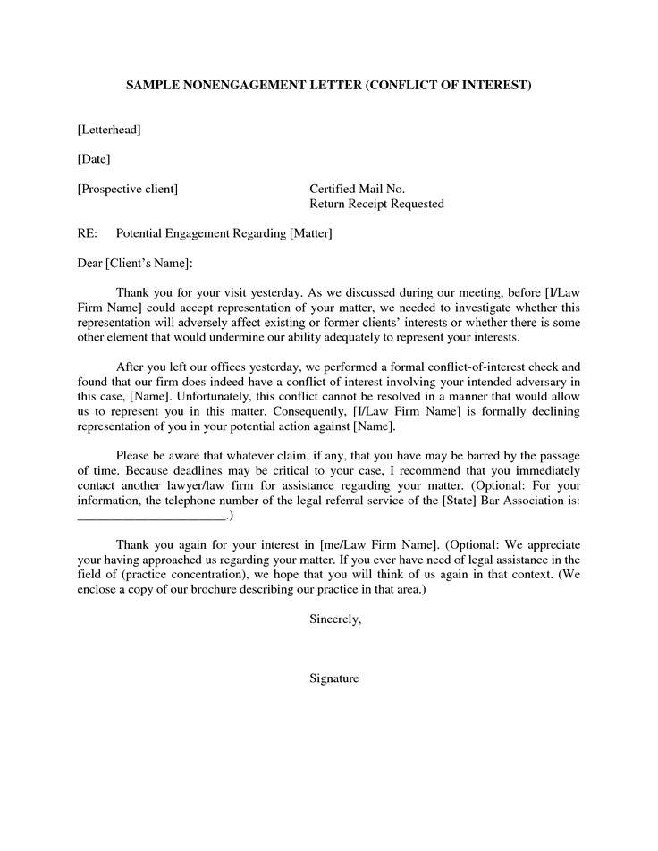 Sample Legal Business Letter Format Clipart - Free Clip Art Images - sample legal letters