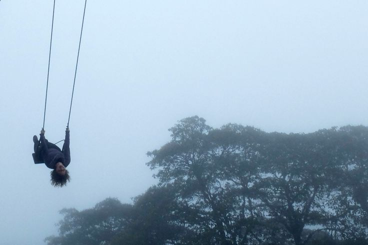 I've always loved swings. Finally I made it to The Swing at the End of the World in Baños, Ecuador. This is how I got to have the whole place entirely for myself...