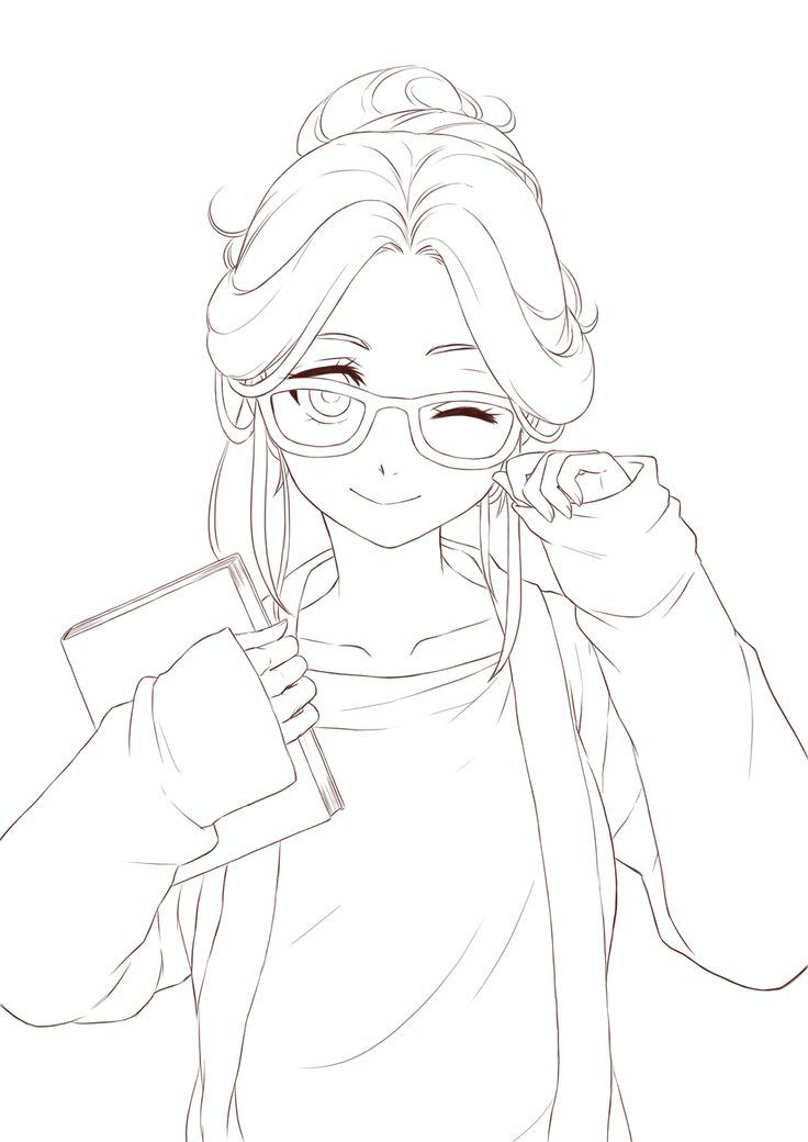 anime lineart transparent - Google Search