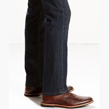 Levis 527 low bootcut mens jeans