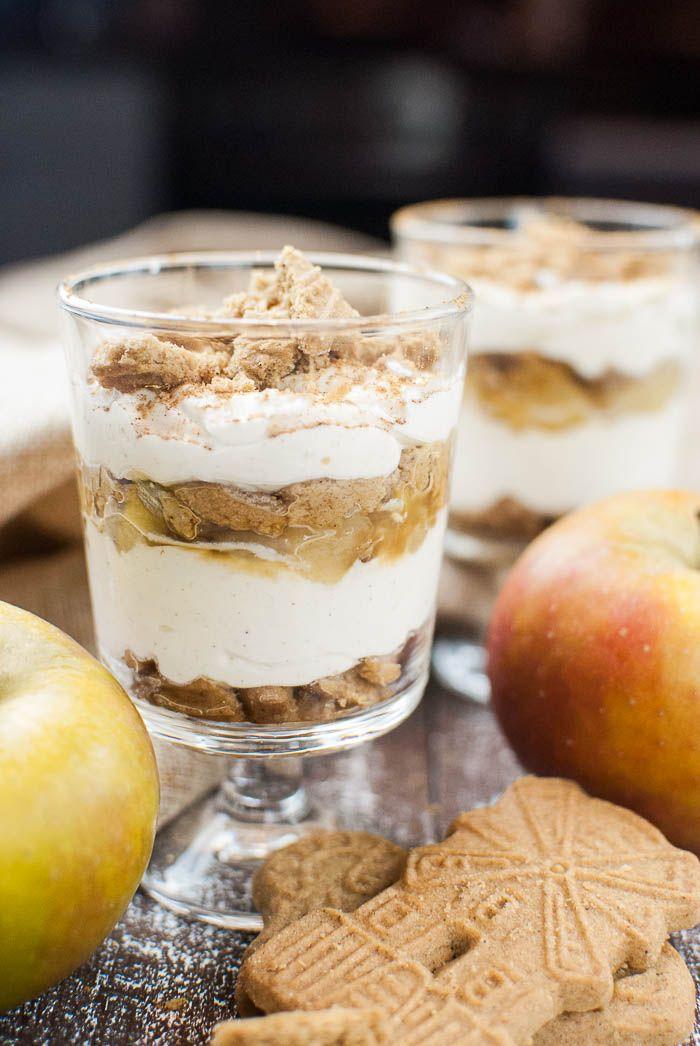 Spekulatius-Tiramisu mit karamellisiertem Apfel // kaffeeundcupcakes.de