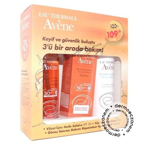 Avene 3ü Bir Arada Güneş Bakım SETİ | 109,90 TL | Dermoeczanem.com #avene #aveneürünleri #güneşkremi #güneşkoruyucu #spf #sunprotect #dermokozmetik
