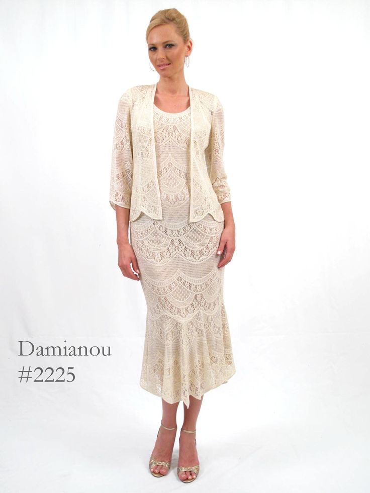 Mother Of The Bride Dresses Damianou 2225 Jacket Lace