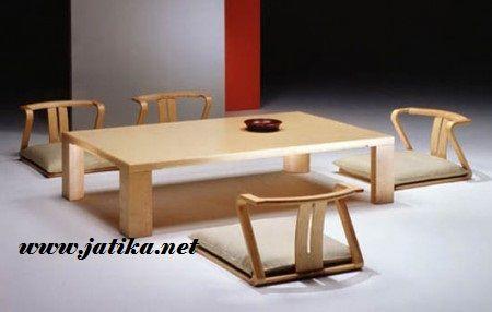 Meja Makan Restoran Jepang model 2