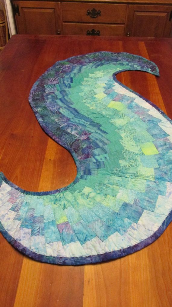 1000 Images About Quilts Spiral Runner Tutorial On