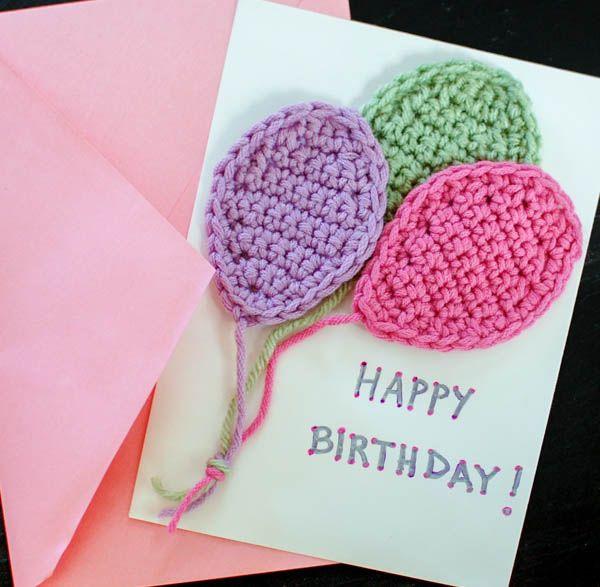 Crochet Balloons Applique Pattern - Petals to Picots