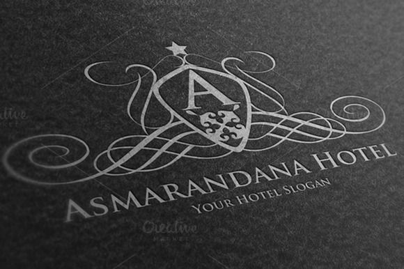Asmarandana Hotel Logo by MAGOO STUDIO on Creative Market