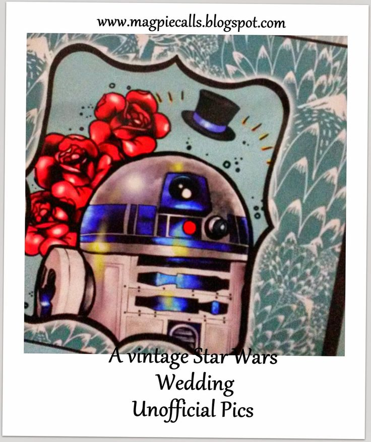Sneak Peak- Vintage Star Wars Wedding- Unofficial photos.By Magpie Calls