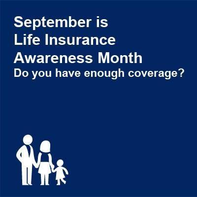 Life insurance awareness month Insurance Pinterest