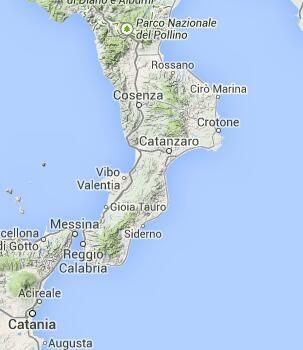Cosenza on the Map-Calabria/Kalabrien-Italien Entdecken /Discover Italy