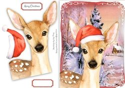 Festive Reindeer on Craftsuprint - View Now!