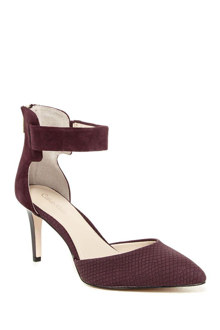 Calvin Klein | Neene Ankle Strap Pump | Nordstrom Rack