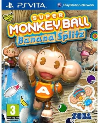 Loot.co.za - Games: Super Monkey Ball - Banana Splitz (PlayStation Vita, Blu-ray disc) | Arcade & Casual