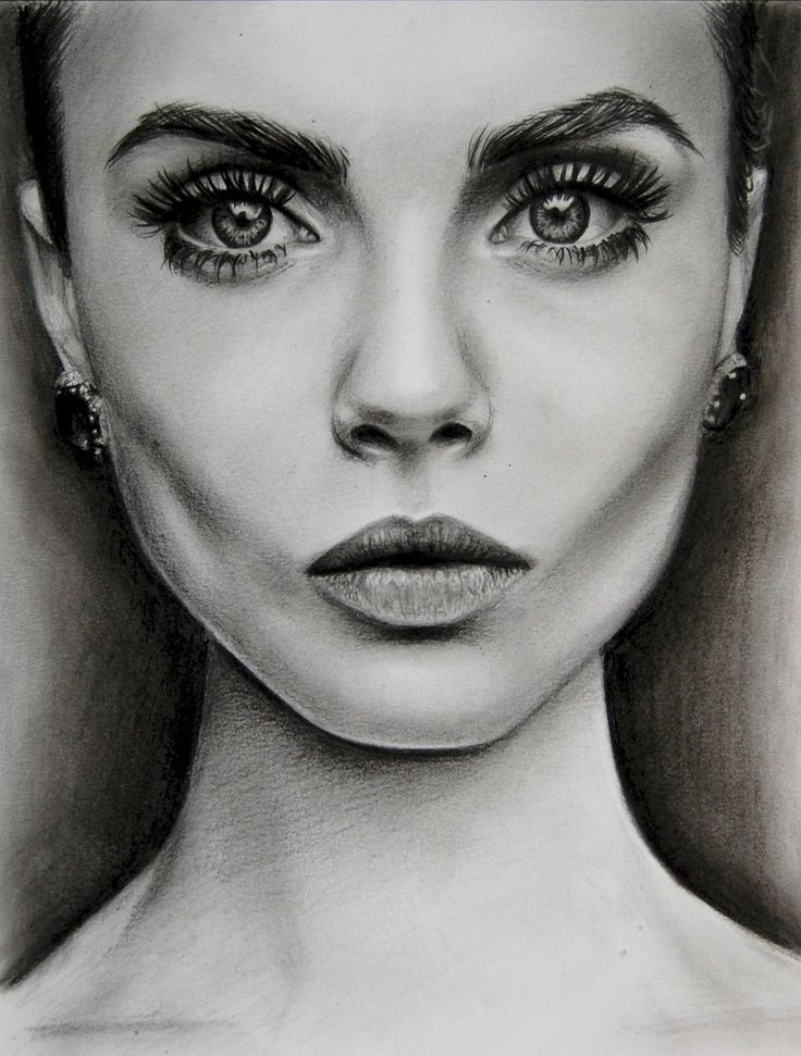 104 Best Images About Faces On Pinterest Cara Delevingne Fashion Sketches And