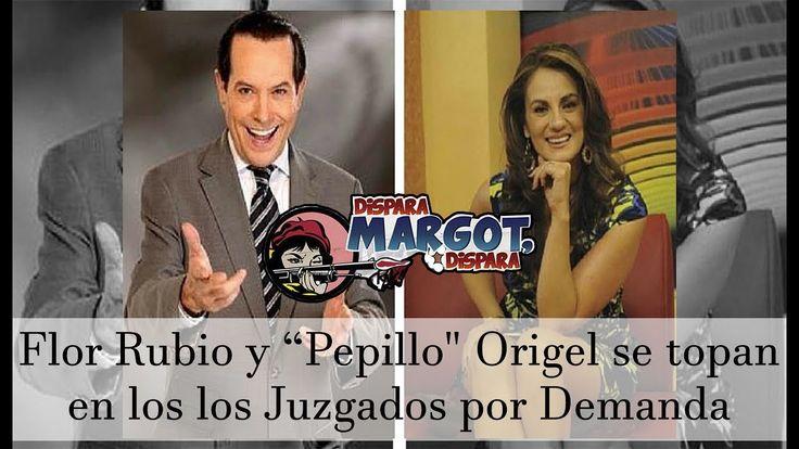"""Flor Rubio y """"Pepillo"""" Origel se topan en los los Juzgados por Demanda"""