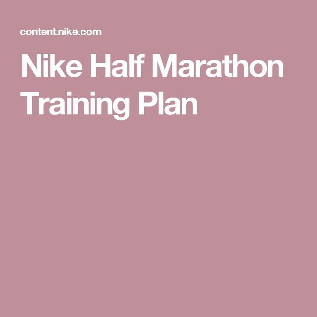 25 Best Ideas About Half Marathon Training Plan On