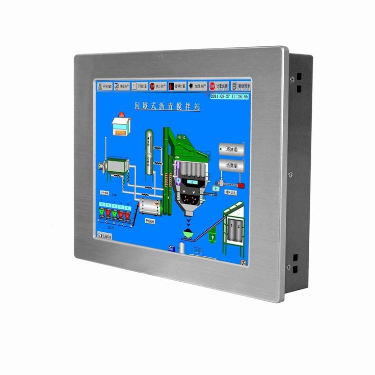 Factory low price 12.1 inch embedded ip65 FANLESS touch screen industrial panel pc with CPU Intel Atom N 2800 1.86Ghz #Affiliate