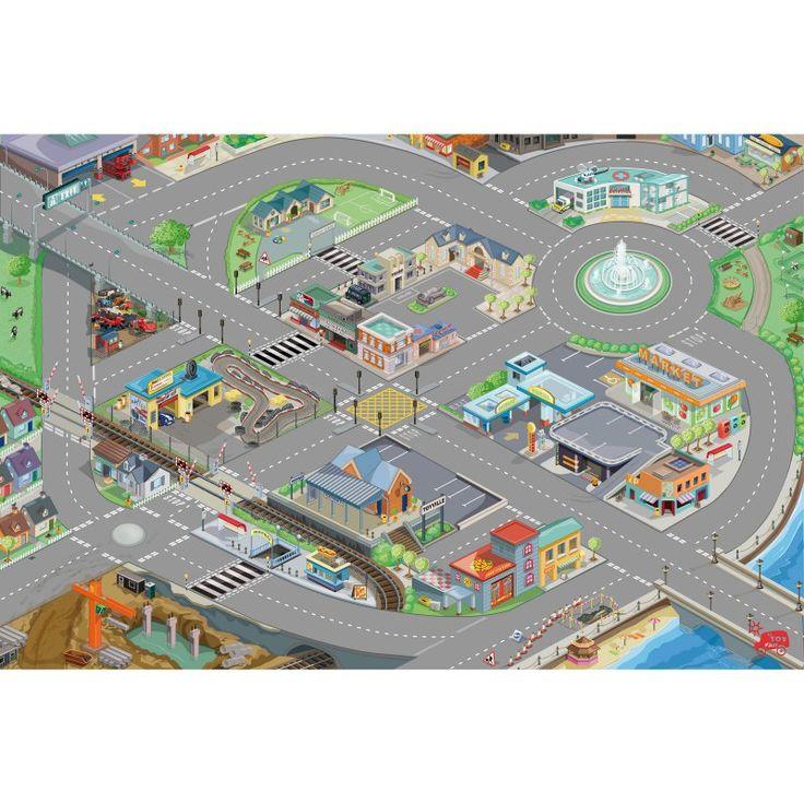 Le Toy Van Car Play Mat - TV429