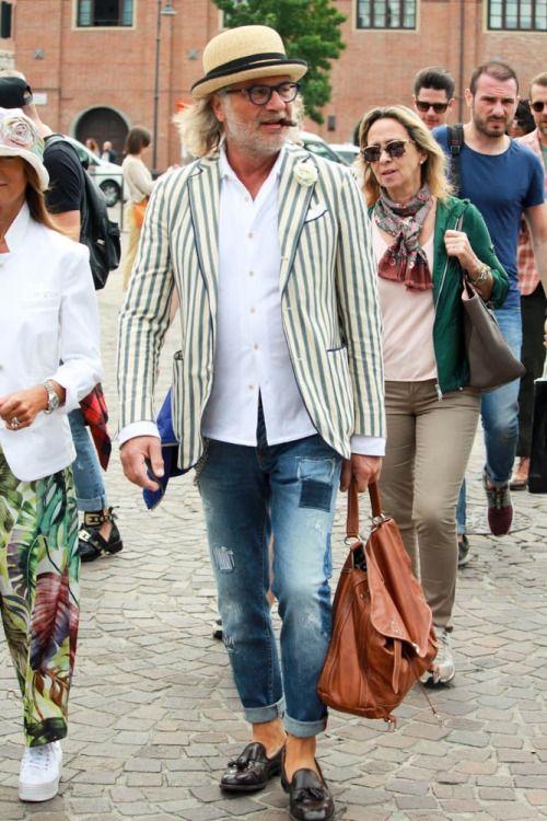 sprezzaturaeleganza:  Ezio Mancini   Street style Pitti Uomo 88 – Powered by Louis Purple – Day 2 - Stil Masculin .ro