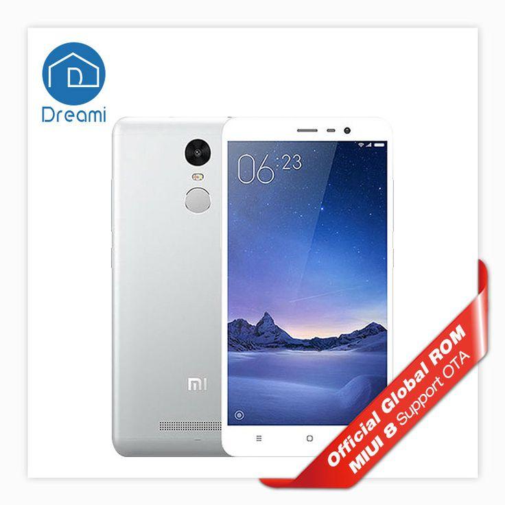 Оригинал Xiaomi Redmi Note 3 Pro Snapdragon 650 2 Г/16 Г 4050 мАч 16 МЛ 1080 P…