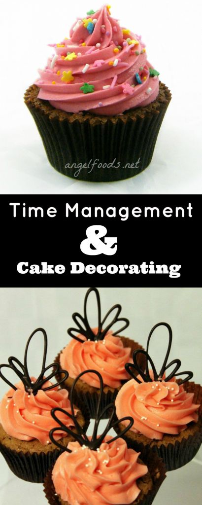 Time Management and Cake Decorating
