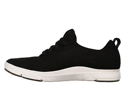 Skechers Men's Moogen Holder Memory Foam Sneakers (Black/White)
