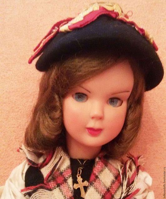 Винтажные куклы и игрушки. Ярмарка Мастеров - ручная работа. Купить Кукла во французском национальном костюме. Handmade. Бежевый