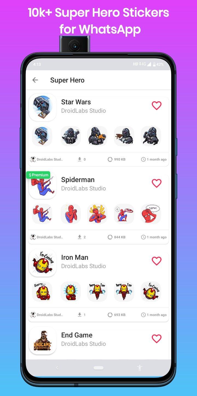 Super Hero Stickers For Whatsapp Wastickerapps Star Wars Stickers Spiderman Stickers Superhero Stickers