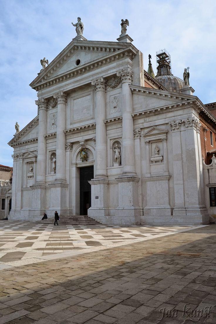 San Giorgio Maggiore, Venice, designed by Andrea Palladio and built between 1566 and 1610