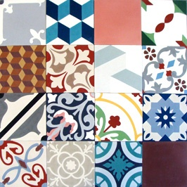 Cement tile resource