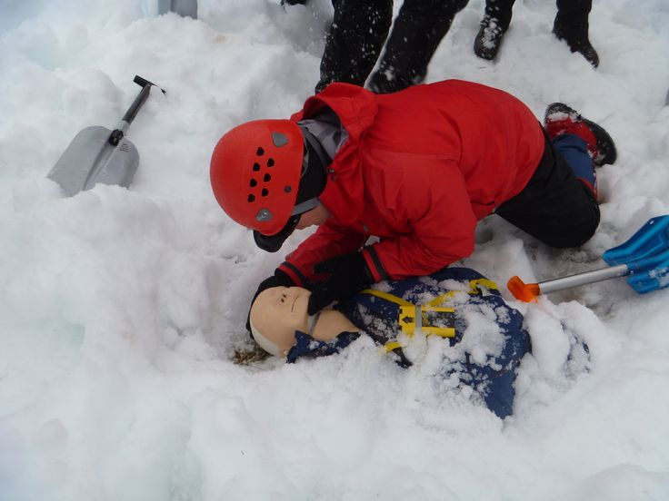 Learn the top ten  mistakes made when trying to rescue an avalanche victim
