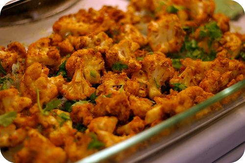 Crispy Curried Cauliflower (Indian Inspired Vegan Food) Kids love it!