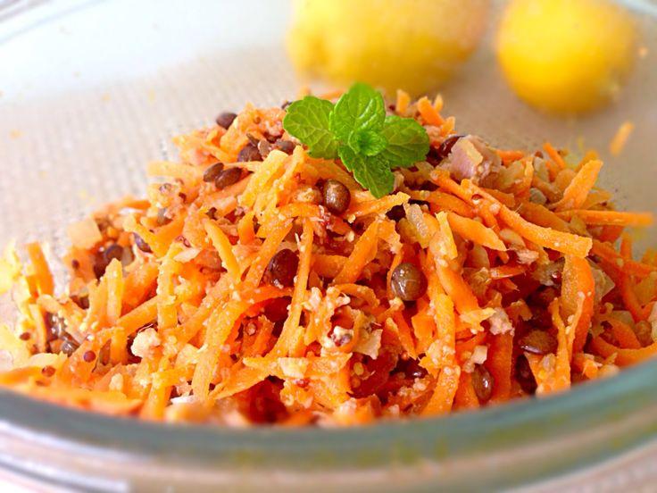 レンズ豆×ツナの絶品キャロットラペ♪レシピ : 南仏 カラフルな食卓
