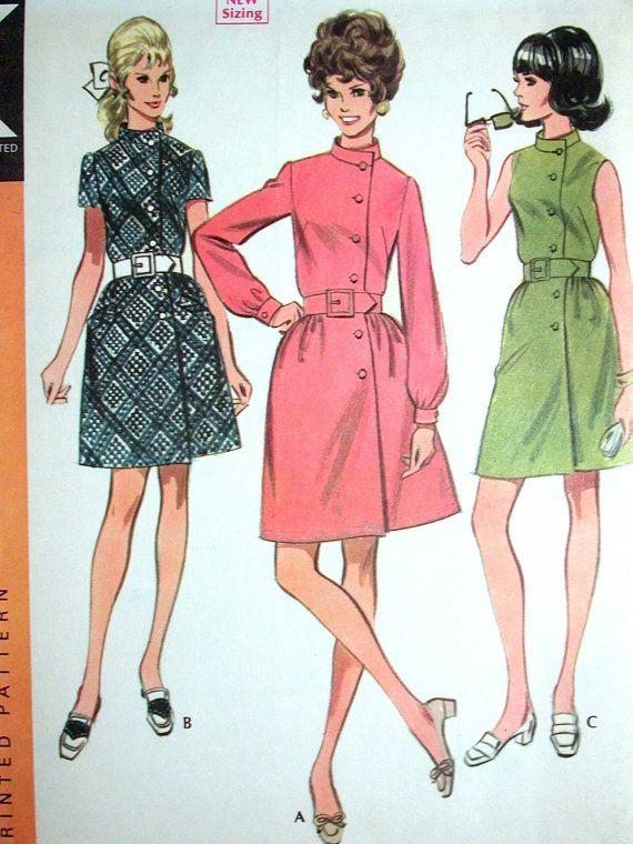 McCalls Dress Pattern No 9621 UNCUT Vintage by CaliforniaSunset
