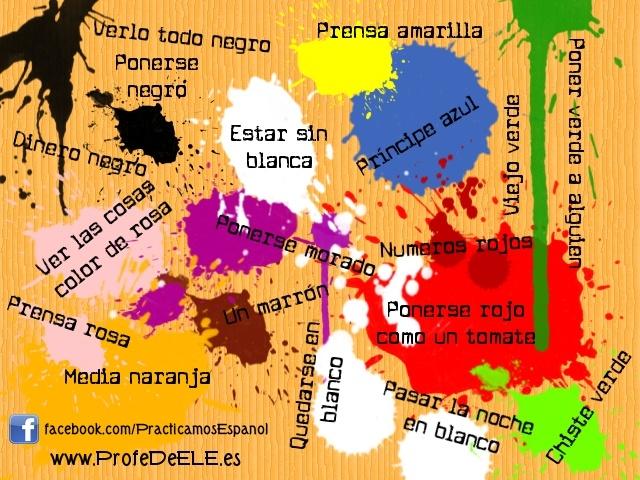Sacándole los colores al español