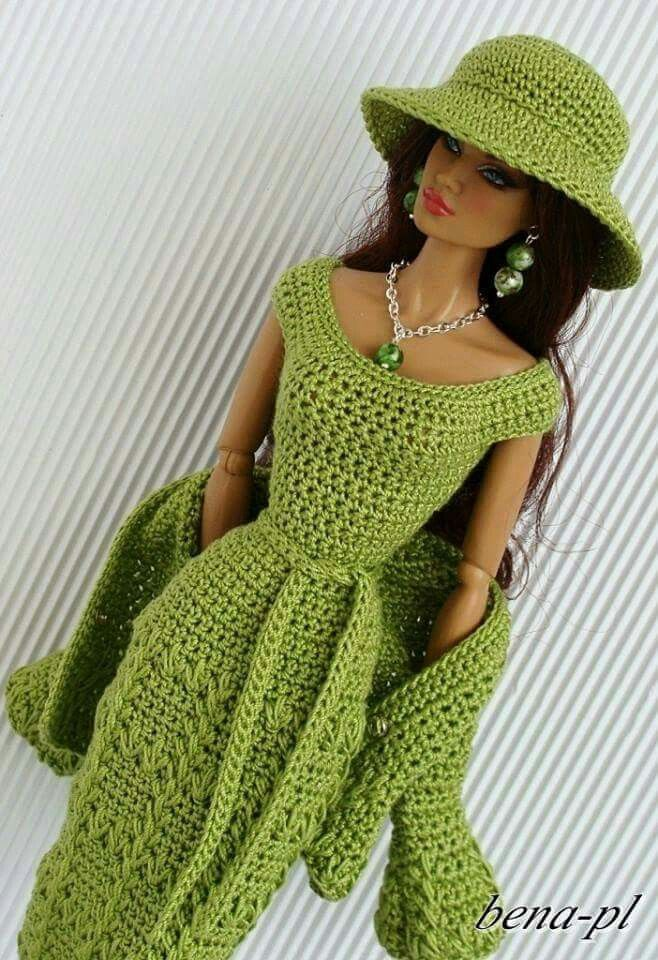 311 best ropita para muñecos images on Pinterest | Barbie doll ...