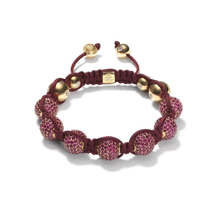 Ruby Pavé Bracelet