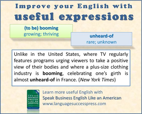 Two useful American English expressions - found in a recent New York Times article.