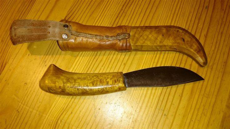 Handgjord Jakt Fiske Kniv på Tradera.com - Jaktknivar och jaktverktyg  